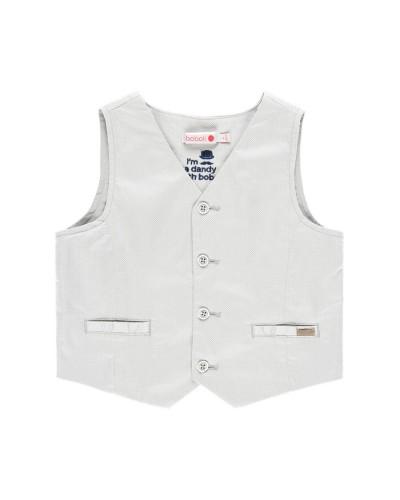 BOBOLI Vest satin stretch for boy - 739054