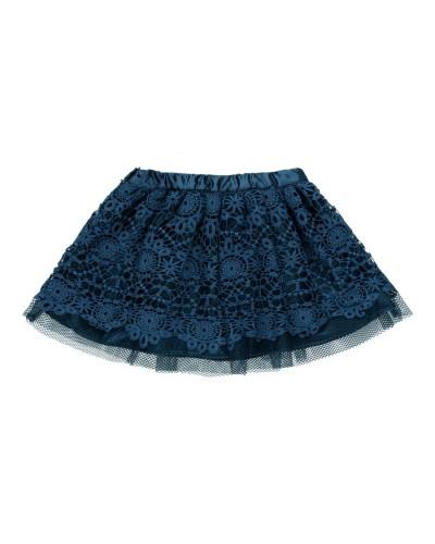 BOBOLI Skirt with guipure for girl - 729165