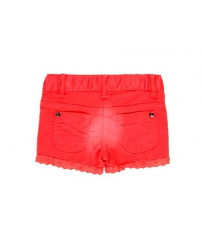 BOBOLI Stretch gabardine shorts for b - 299011