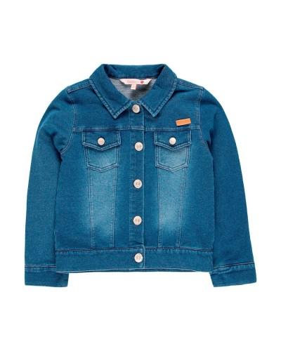 BOBOLI Fleece jacket denim for girl - 499091
